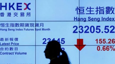 Photo of Saham Hong Kong merosot, Indeks Hang Seng jatuh 2,15 persen