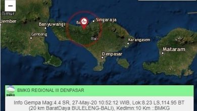Photo of Breaking News: Gempa Bumi di Barat Daya Buleleng Bali