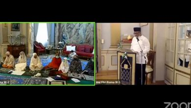 Photo of KBRI Roma gelar Idul Fitri virtual bersama WNI di Italia