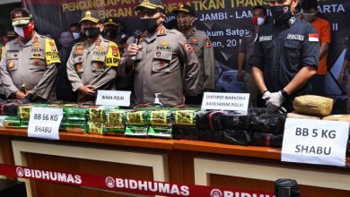 Photo of Polisi ungkap penyelundupan 71 kilogram sabu