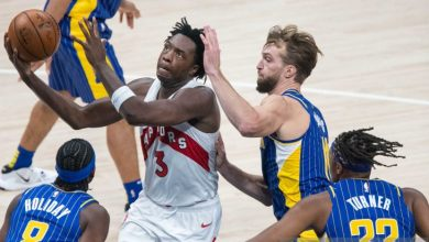 Photo of NBA : Raptors tundukkan Pacers, Anunoby cetak 30 poin