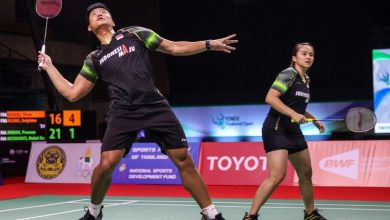 Photo of Praveen/Melati harus puas jadi runner up Thailand Open 2021