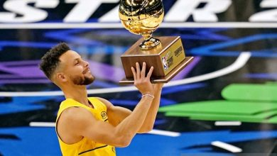 Photo of Stephen Curry juara lomba 3 Point Contest NBA All-Star