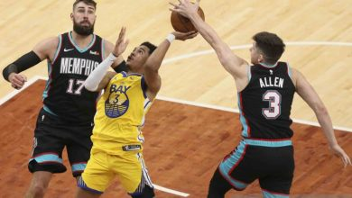 Photo of NBA: Grizzlies menang 111-103 atas tamunya Warriors